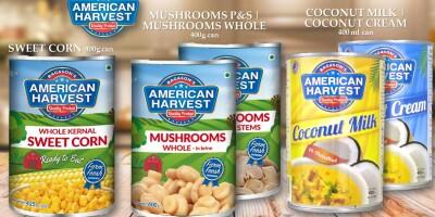 Coconut Milk | Coconut Cream | Mushrooms | Sweet Corn