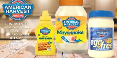 Mayonnaise | Egg Free Mayonnaise | Classic Yellow Mustard